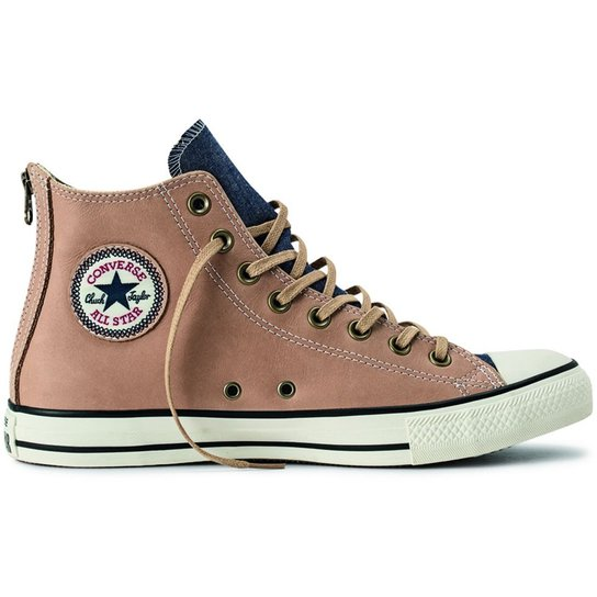dc0ef0f079 Tênis Converse All Star Ct As Back Zip Leather Hi - Compre Agora ...