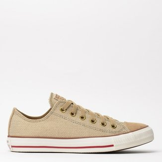 8eb2e5edb71 Tênis Converse All Star CT As Linen Ox Nozes CT02