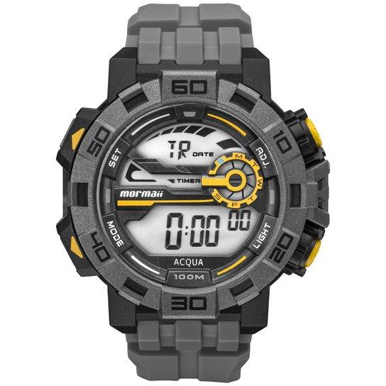 Relógio Mormaii Masculino Action - MO1148AC 8C MO1148AC 8C - Preto+Grafite 92a316ea66