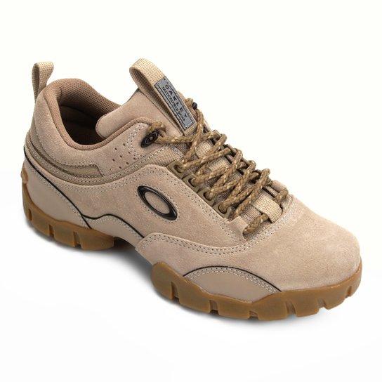 516eedf3f19 Tênis Couro Oakley Modoc Low 3.0 Masculino - Bege - Compre Agora ...