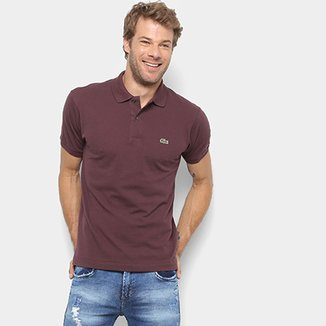 1275a06ca08db Camisa Polo Lacoste Original Fit Masculina