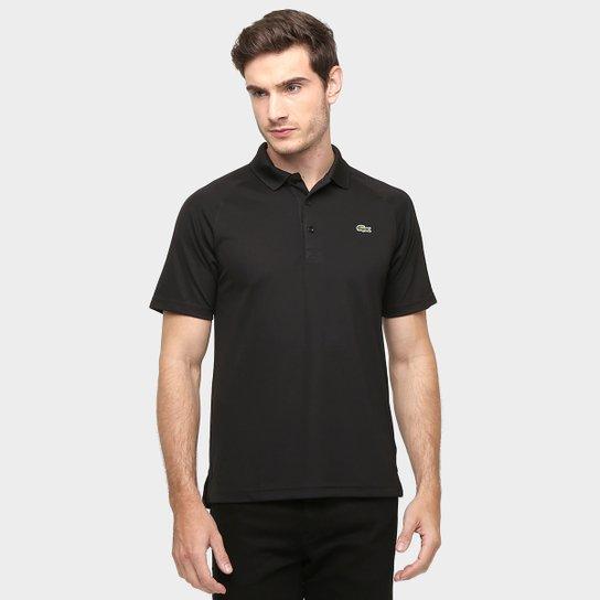 107bcb6e253 Camisa Polo Lacoste Lisa - Preto - Compre Agora