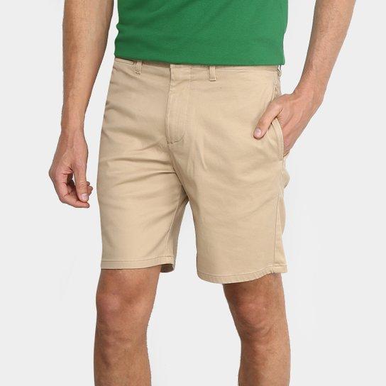 Bermuda Sarja Lacoste Bolso Faca Clássica Masculina - Compre Agora ... b7c9f6facc
