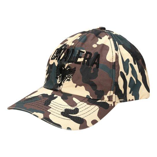 0e611529df Boné Cavalera Aba Curva Henrique Militar Masculino - Compre Agora ...