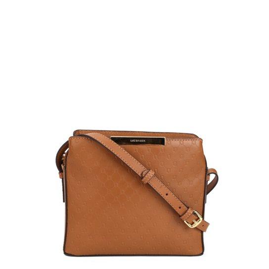 a6b1a9bd4 Bolsa Couro Luz Da Lua Mini Bag Feminina - Caramelo