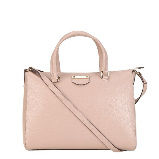 364c852b4e24c Bolsa Couro Luz da Lua Shopper Média Feminina - Compre Agora