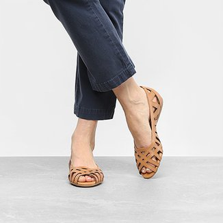 5d9364549 Peep Toe Bottero Feminino Bege - Calçados | Zattini
