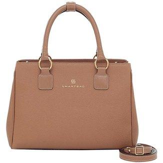 75d2b5129c6 Bolsa Smartbag Tiracolo Verona Couro Camel - 86067.17