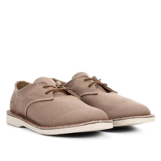 f11630b915 Sapato Casual Kildare em Lona Masculino - Bege