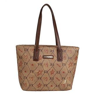 109990917 Bolsa Fellipe Krein Shopper Estampada Feminina