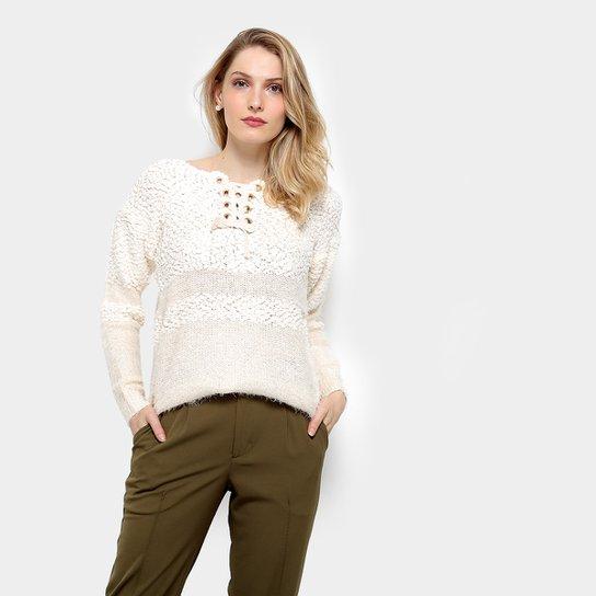 d63c311572 Tricô Lily Fashion Pelos Feminino - Compre Agora
