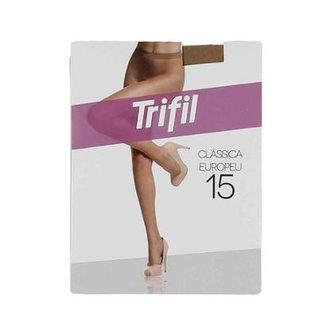3d48b59e0 Meia-Calça Feminina Trifil Fio 15