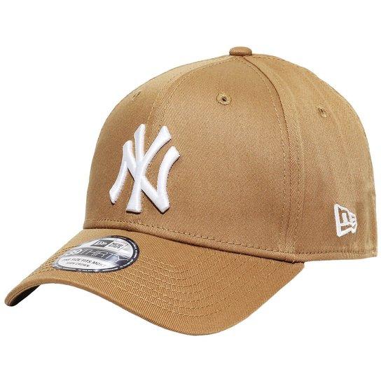 288a0315063e1 Boné New Era Aba Curva Fechado Mlb Ny Yankees Colo - Bege - Compre ...