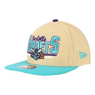 58fadfc8a700c Boné New Era NBA Charlotte Hornets Aba Reta 950 OF SN Lettering