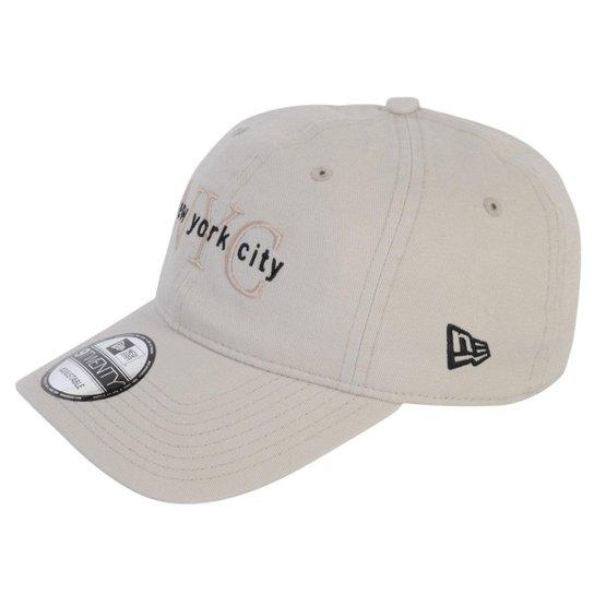 0356533cb Boné New Era New York City - Bege - Compre Agora