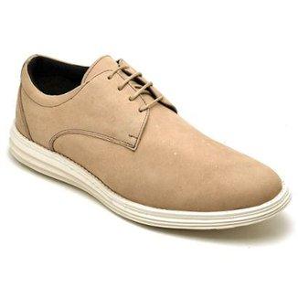 019515de5d Sapato Casual em Couro D R Shoes Masculino