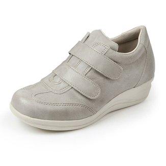 93d5aa2b73f Sapato Conforto Pizaflex Confort Antistress Feminino
