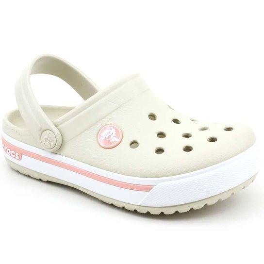 f5ebd374e9415 Crocs Infantil Clog Crocband 2.5 Kids - Bege | Zattini