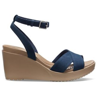 830d8caca5 Sandália Crocs Anabele Leigh II CrossStrap Ankl Wdg Feminina