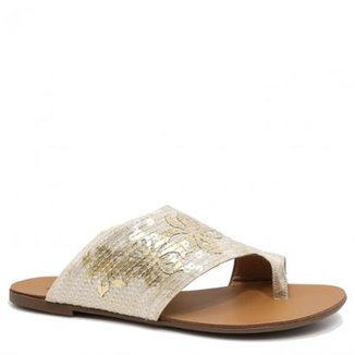 ce48827c6 Rasteirinha Zariff Shoes Floral Feminina