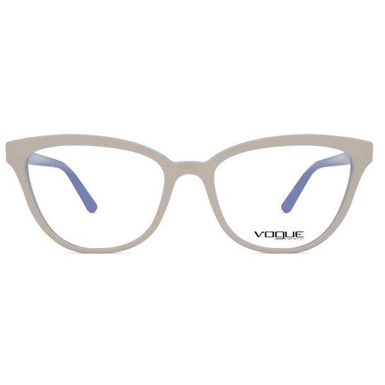 97ba162aa Óculos de Grau Vogue Light & Shine VO Feminino - Bege - Compre Agora ...