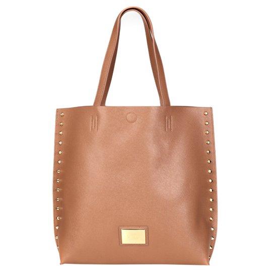 92f889e6a Bolsa Santa Lolla Shopper Tachas Laterais - Compre Agora   Zattini
