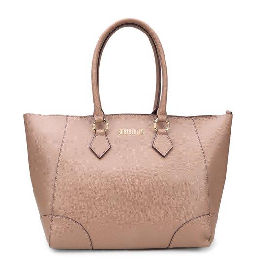 b1f8959de Bolsa Santa Lolla Shopper Logo Feminina - Compre Agora   Zattini