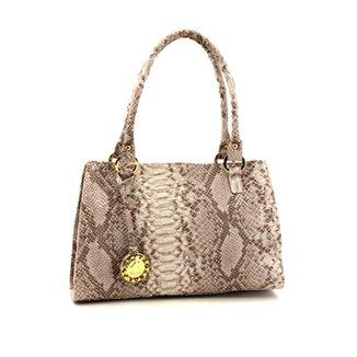 f77607017 Bolsa Feminina Grande TIracolo Em Couro Leyal