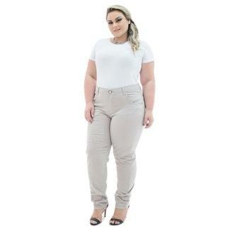 86334281ac03 Calça Confidencial Extra Jeans Cigarrete Munich Plus Size Feminina