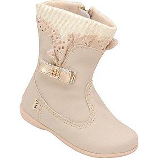 b4c9389ad16 Bota Infantil Plis Calçados Feminina