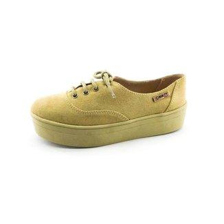 999c091dda Tênis Quality Shoes Feminino Bege - Calçados