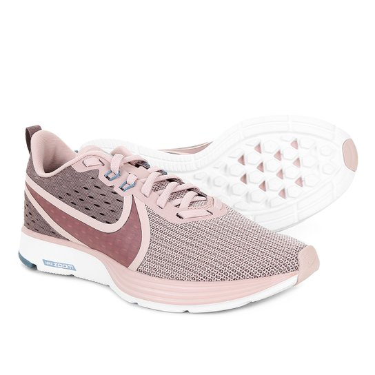 553dc838682 Tênis Nike Zoom Strike 2 Feminino - Rosa Claro - Compre Agora