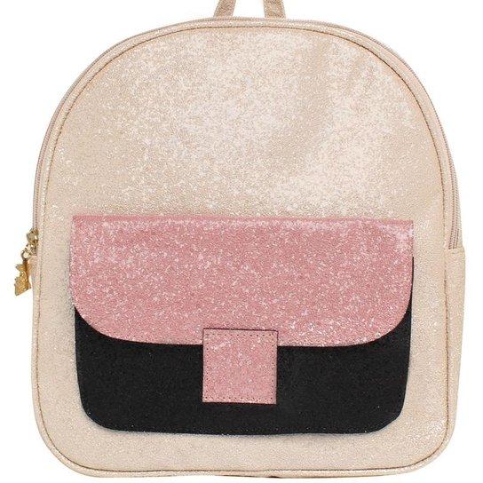 Mochila De Glitter Larissa Manoela Birô - Compre Agora   Zattini 88f4bb32ba