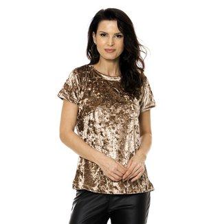 5bef31016 Compre Blusa de Veludo Online