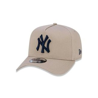 c255266a4b163 Boné 940 New York Yankees MLB Aba Curva Snapback New Era