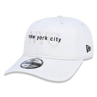 Boné New Era Aba Curva Dad Hat Snap Nyc Khaki 6e21634e987