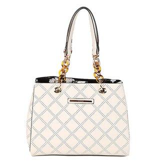 5d91ba633 Bolsa WJ Handbag Floral Alça Corrente Femininas