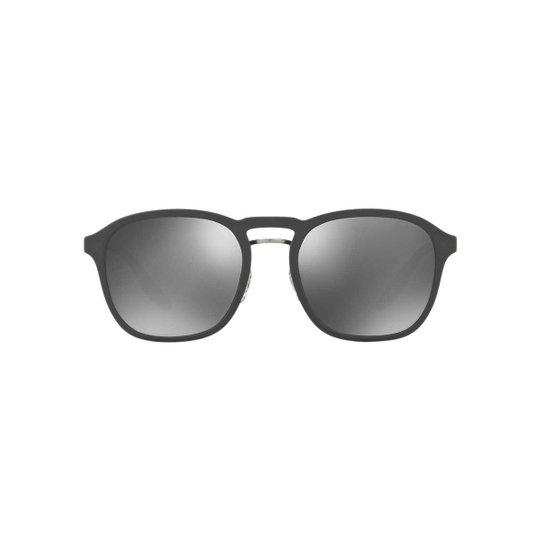 Óculos de Sol Prada Linea Rossa Redondo PS 02SS Masculina - Preto+Grafite 8b19e1a2e4