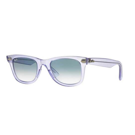 392cc266f Óculos de Sol Ray-Ban RB2140 Original Wayfarer Ice Pops Uva - Violeta