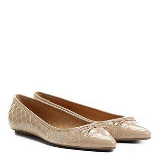 21ec15c0dc Sapatilha Shoestock Bico Fino Matelassê