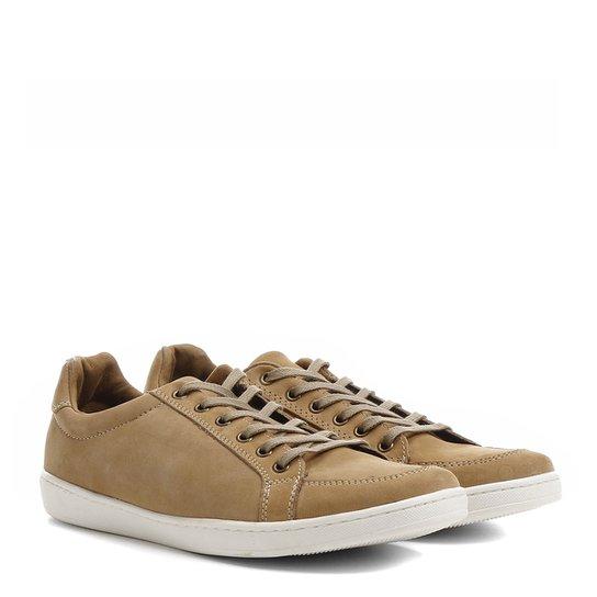 47dd41b73d Sapatênis Couro Shoestock Nobuck Masculino - Compre Agora