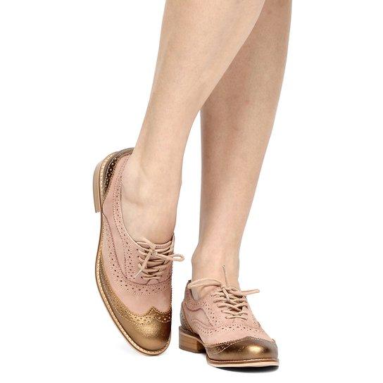 d50667ef58 Mocassim Couro Shoestock Oxford Tradicional Feminino - Compre Agora ...
