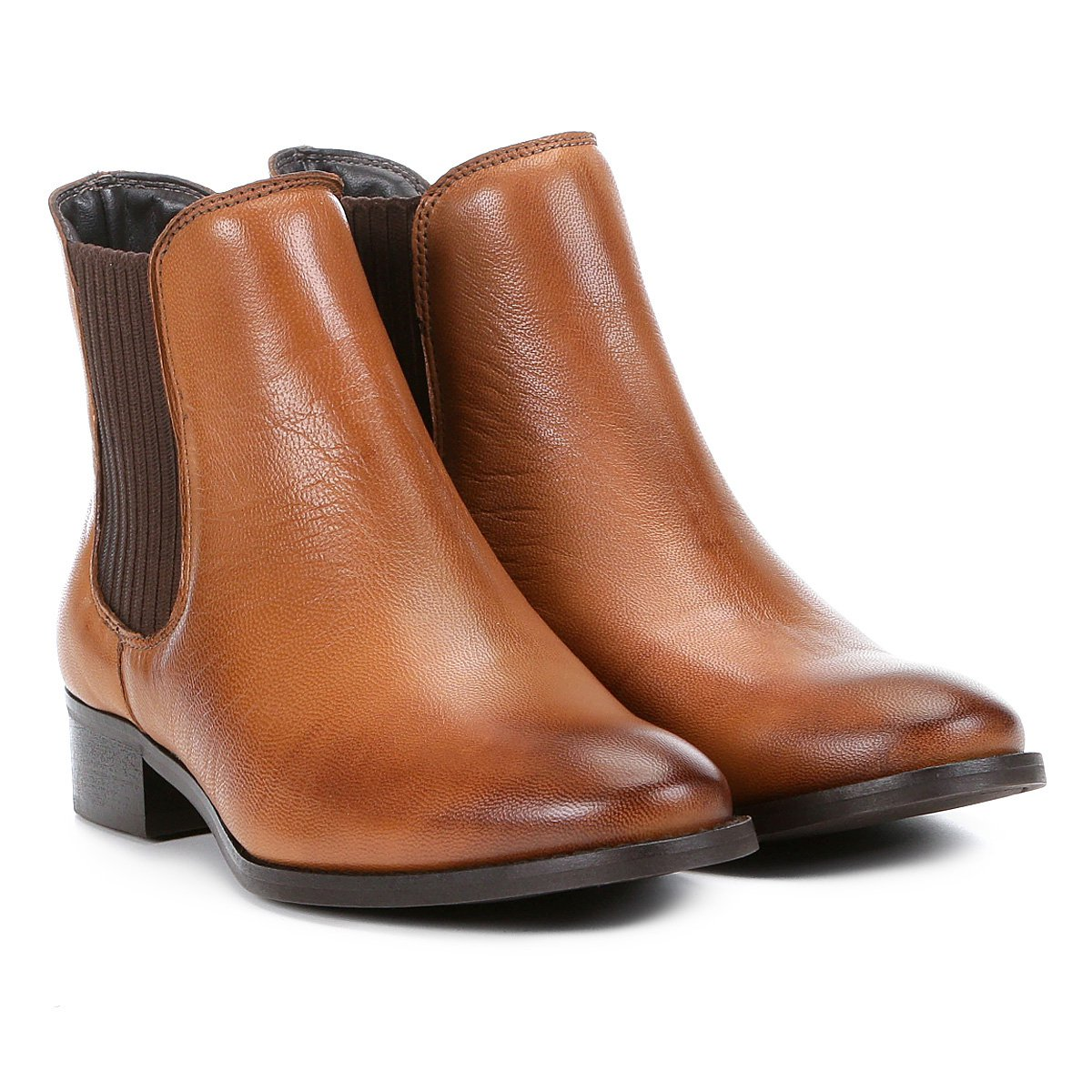 5cf2fb270c Bota Chelsea Shoestock Flat Feminina