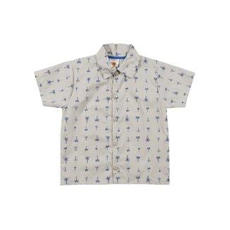 9447d80aa4 Camisa By Gus Manga Curta Infantil