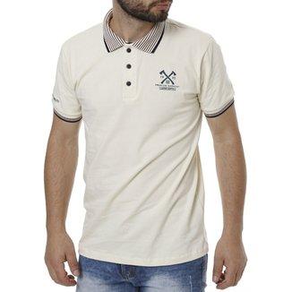 Camisa Polo Manga Curta Masculina 7867676d000