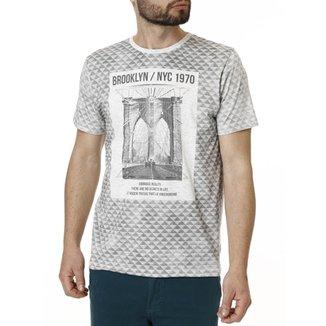 67cc112f2 Camiseta Manga Curta Masculina