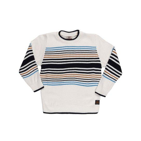 Suéter Infantil Para Menino Bege - Compre Agora   Zattini 3bc637aa91