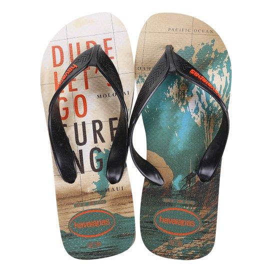 1836559ff Chinelo Havaianas Surf Masculino - Off White | Zattini