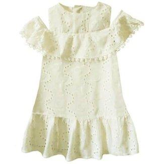 e81ce2979a Vestido Infantil Momi Bordado