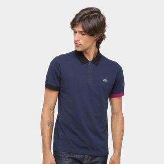 f39d6f7533cbb Camisa Polo Lacoste Yh8 Masculina